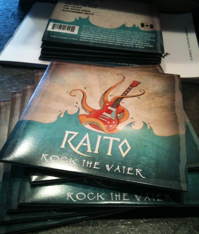 Rock The Water CD