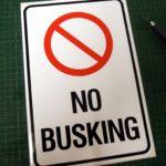 No Busking in Winnipeg